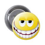 Huge Smile Smiley Face Pins