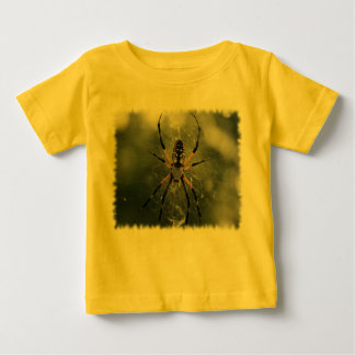 Huge Spider / Yellow & Black Argiope Baby T-Shirt