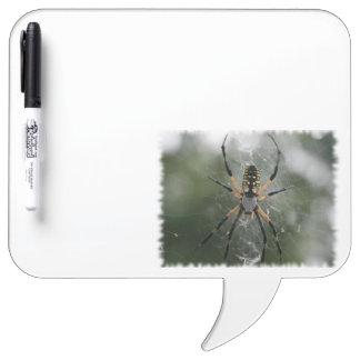 Huge Spider / Yellow & Black Argiope Dry Erase Board