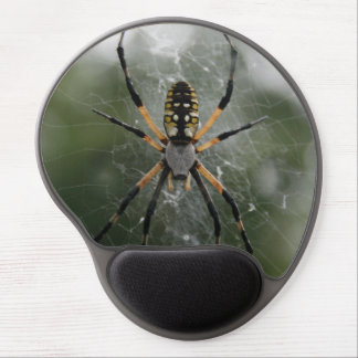 Huge Spider / Yellow & Black Argiope Gel Mouse Pad