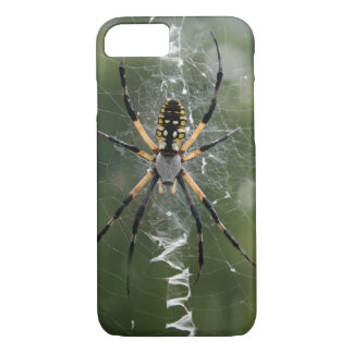 Huge Spider / Yellow & Black Argiope iPhone 7 Case