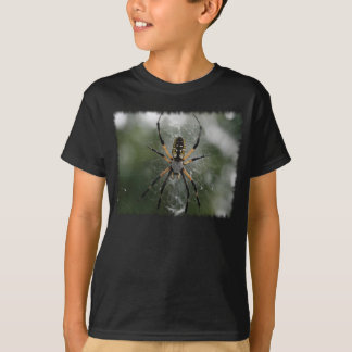 Huge Spider / Yellow & Black Argiope T-Shirt