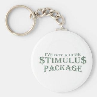 Huge Stimulus Package Keychain