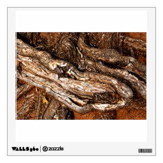 Huge tree roots room decals