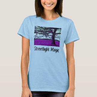 Huge Tree, Streetlight Magic (Womens) T-Shirt