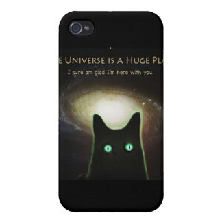 Huge Universe ~ Glad I'm Here With You Case For iPhone 4