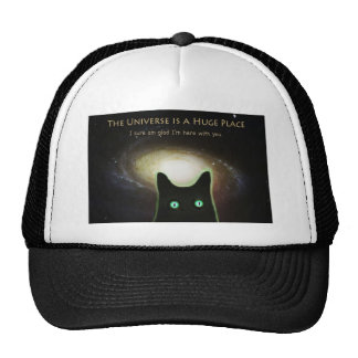 Huge Universe ~ Glad I'm Here With You Trucker Hat