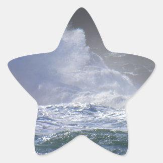 Huge Wave Star Sticker
