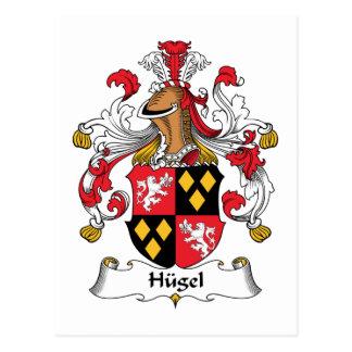 Hugel Family Crest Postcard