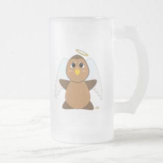 Huggable Angel Brown Owl Coffee Mugs