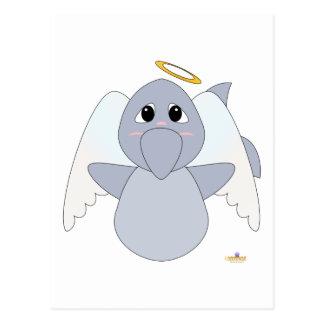 Huggable Angel Dolphin Postcard