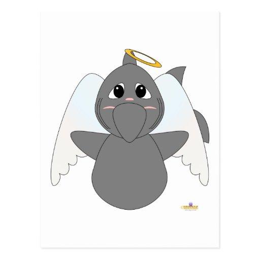 Huggable Angel Shark Post Cards