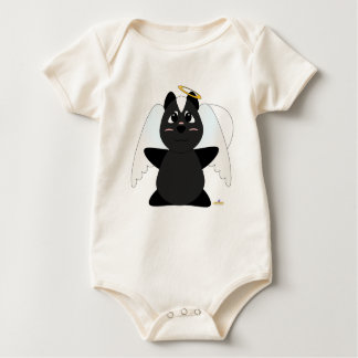 Huggable Angel Skunk Baby Bodysuit