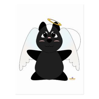 Huggable Angel Skunk Postcard