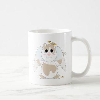 Huggable Angel Tan Cat Coffee Mug