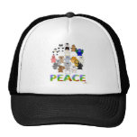 Huggable Animals Peace Sign Peace Hats