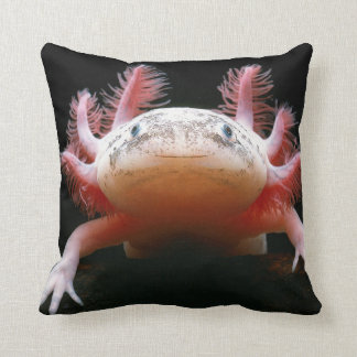 Huggable Axolotl BEAUTIFUL Pillow!! Throw Pillow