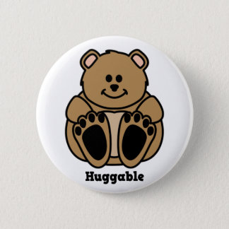 Huggable Bear button
