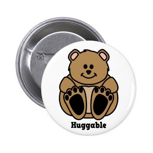 Huggable Bear button