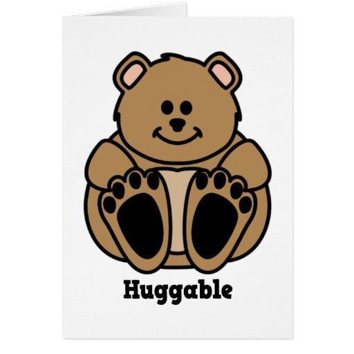 Huggable Bear notecard Stationery Note Card