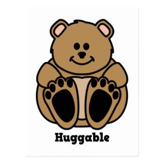 Huggable Bear Postcard