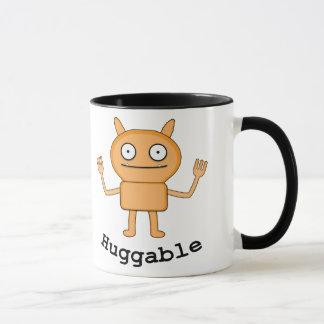 Huggable - Black 11 oz Ringer Mug
