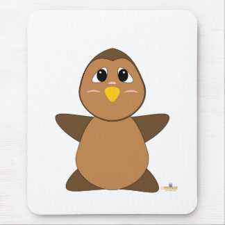 Huggable Brown Owl Mouse Mats