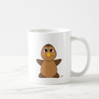 Huggable Brown Owl Mug