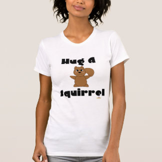 Huggable Brown Squirrel Hug A Squirrel T-Shirt