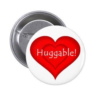 Huggable! Button