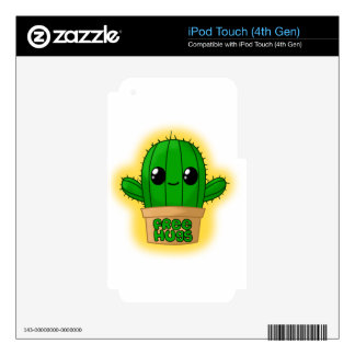 Huggable Cactus iPod Touch 4G Decal