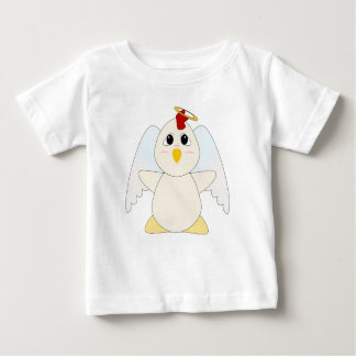 Huggable Chicken Angel Baby T-Shirt