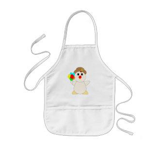 Huggable Chicken Clown Apron