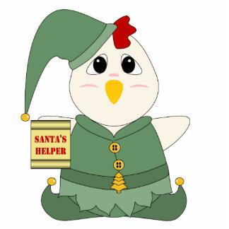 Huggable Chicken Elf Cutout