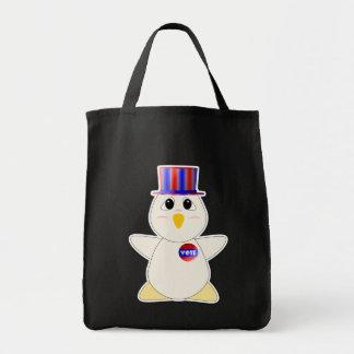 Huggable Chicken Voting Bags