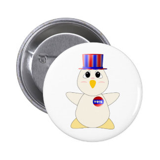 Huggable Chicken Voting Buttons