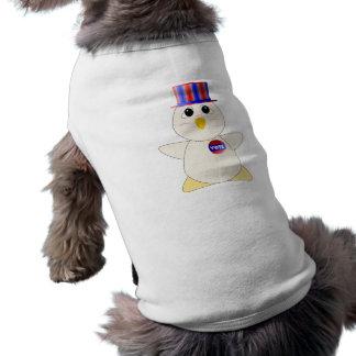 Huggable Chicken Voting Doggie T-shirt