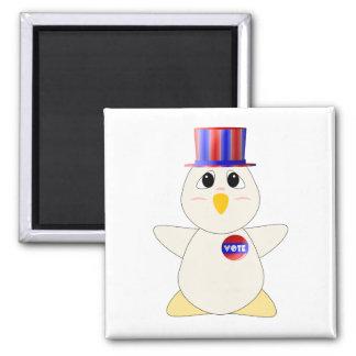 Huggable Chicken Voting Magnet