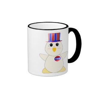 Huggable Chicken Voting Mug