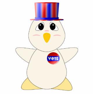 Huggable Chicken Voting Photo Cutouts