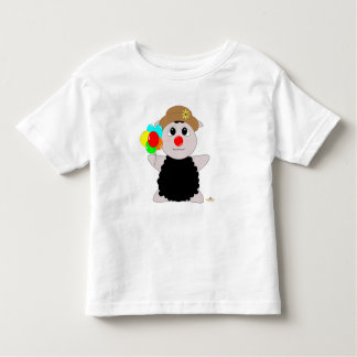 Huggable Clown Black Sheep Toddler T-shirt