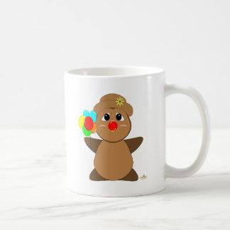 Huggable Clown Brown Owl Coffee Mug