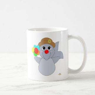 Huggable Clown Dolphin Coffee Mug