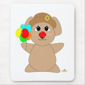 Huggable Clown Koala Bear Mouse Pad