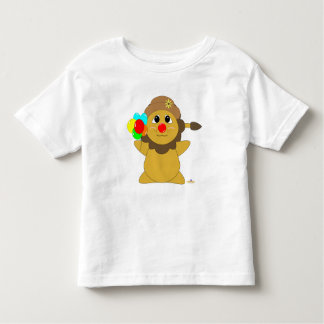 Huggable Clown Lion Toddler T-shirt