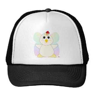 Huggable Fairy White Chicken Trucker Hat