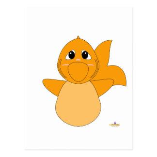 Huggable Goldfish Postcard