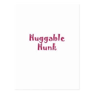 Huggable Hunk Postcard