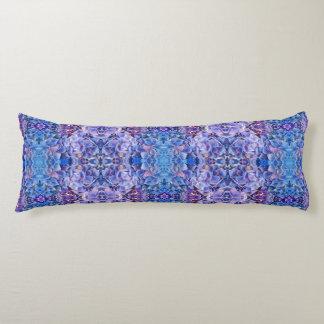 Huggable Hydrangeas Blue Flowers Daybed Bolster Body Pillow