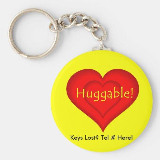 Huggable! Key Chains